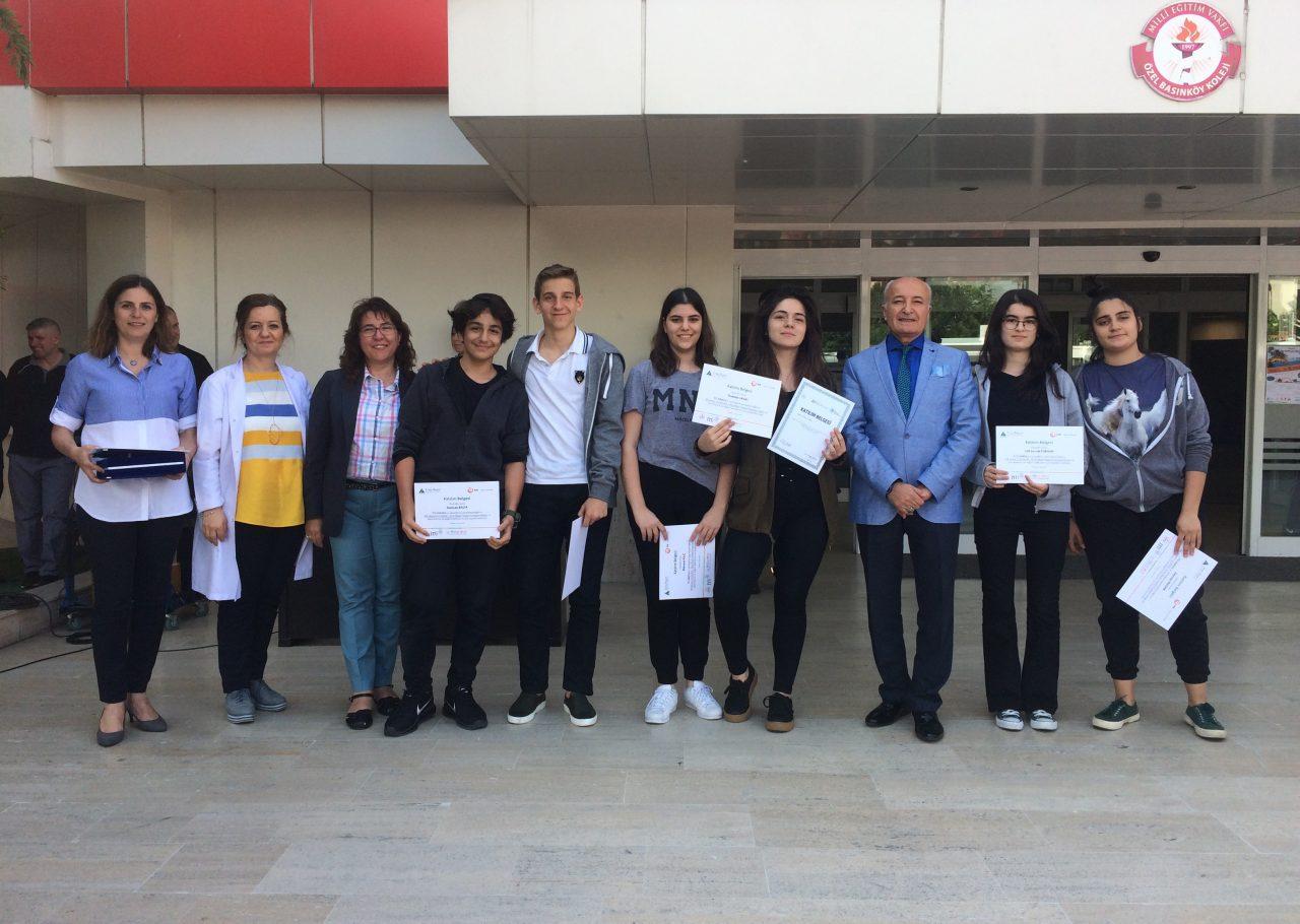 İnovasyon Kampı'na Katılan Anadolu Lisesi Öğrencilerimize Sertifikaları Törenle Verildi