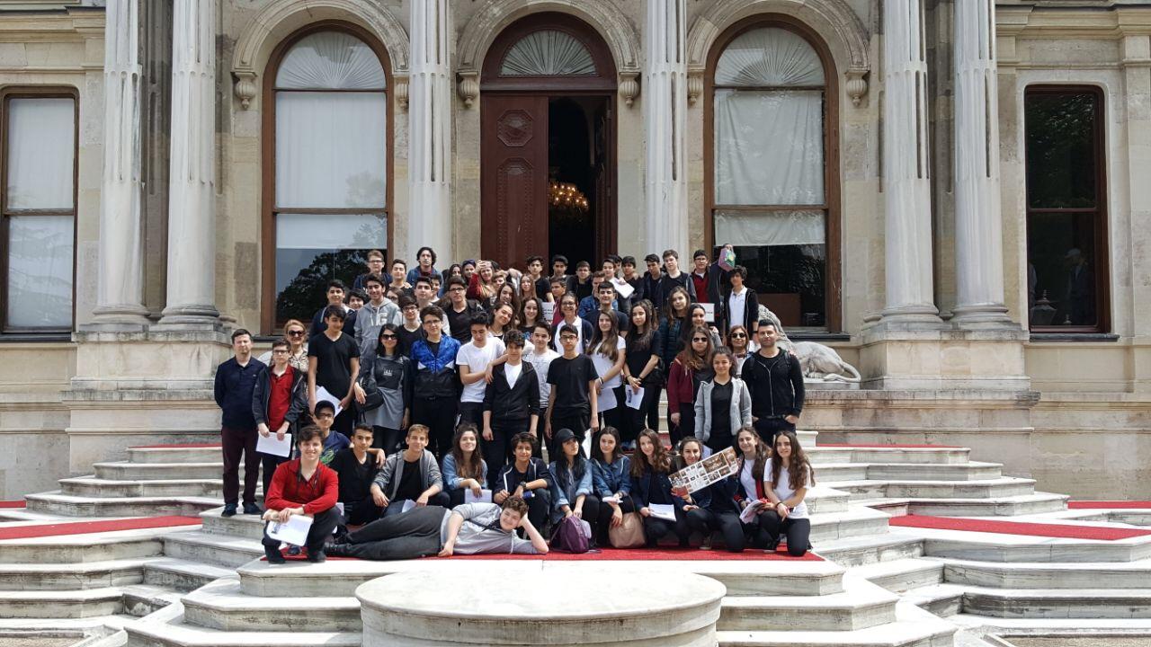 9.Sınıf Öğrencilerimizle Tarihi Yerleri Ziyaret Ettik