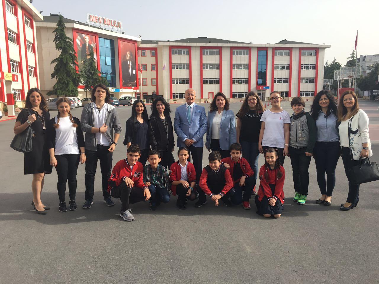 MEV Koleji Özel Büyükçekmece 2017 UNESCO-SEMEP Projesindeyiz