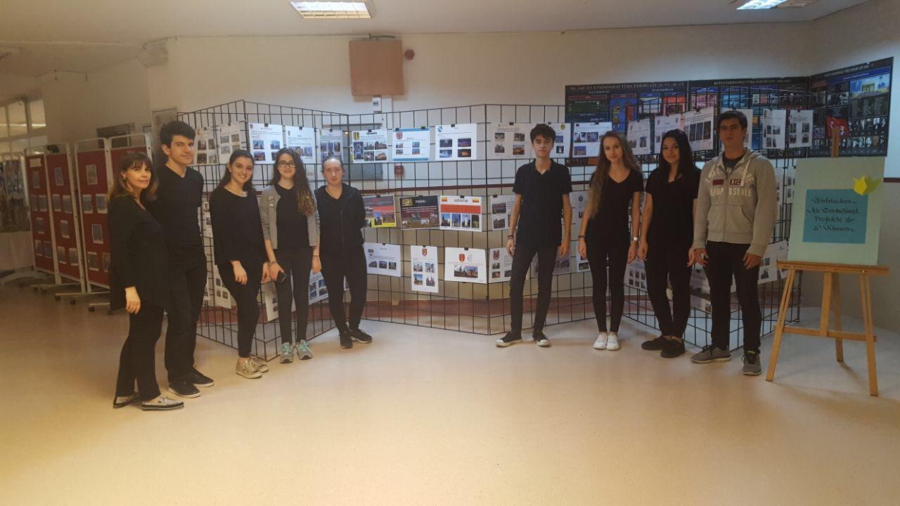Anadolu Lisesi Öğrencilerimiz Avrupa Ülkelerini Tanıttılar