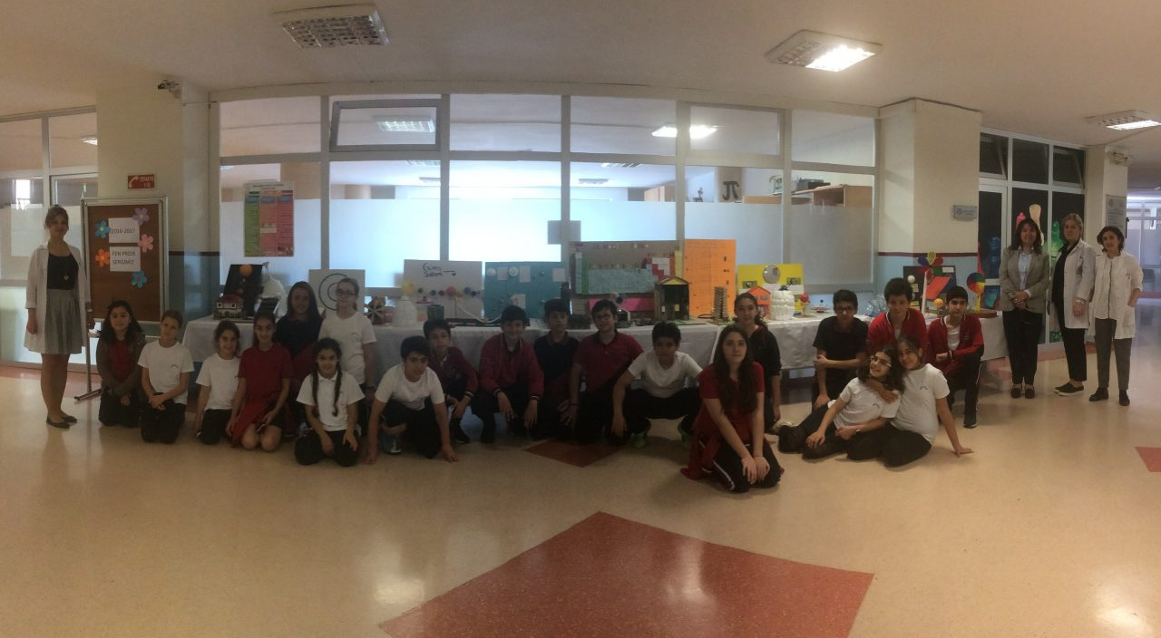 Ortaokul Öğrencilerimiz Fen Projelerini Sergilediler