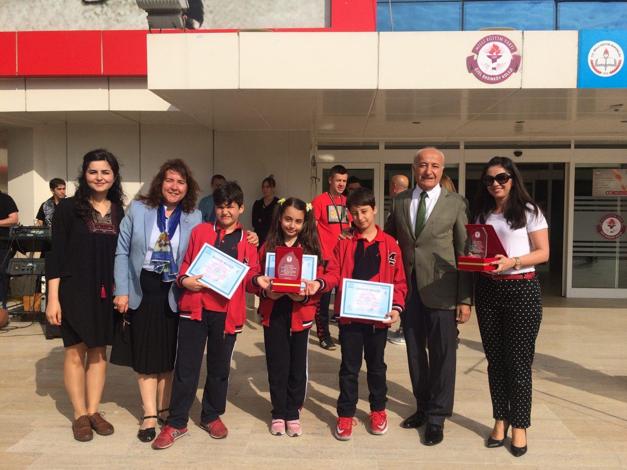 SEMEP Projesinde Okulumuzu Başarıyla Temsil Eden Öğrencilerimize Sertifikalarını Verdik