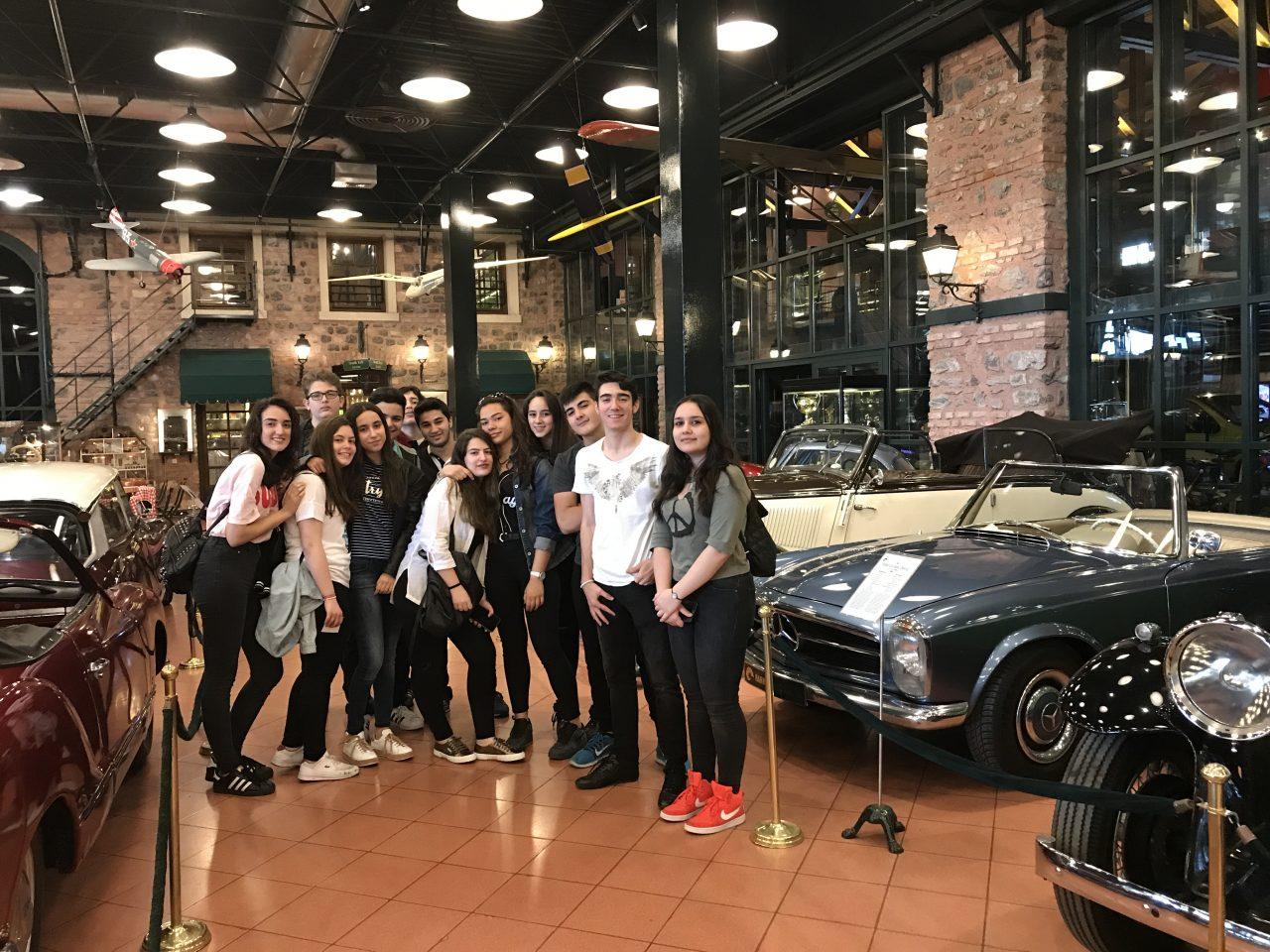 Anadolu Lisesi Öğrencilerimiz Rahmi Koç Müzesi'ni Ziyaret Etti