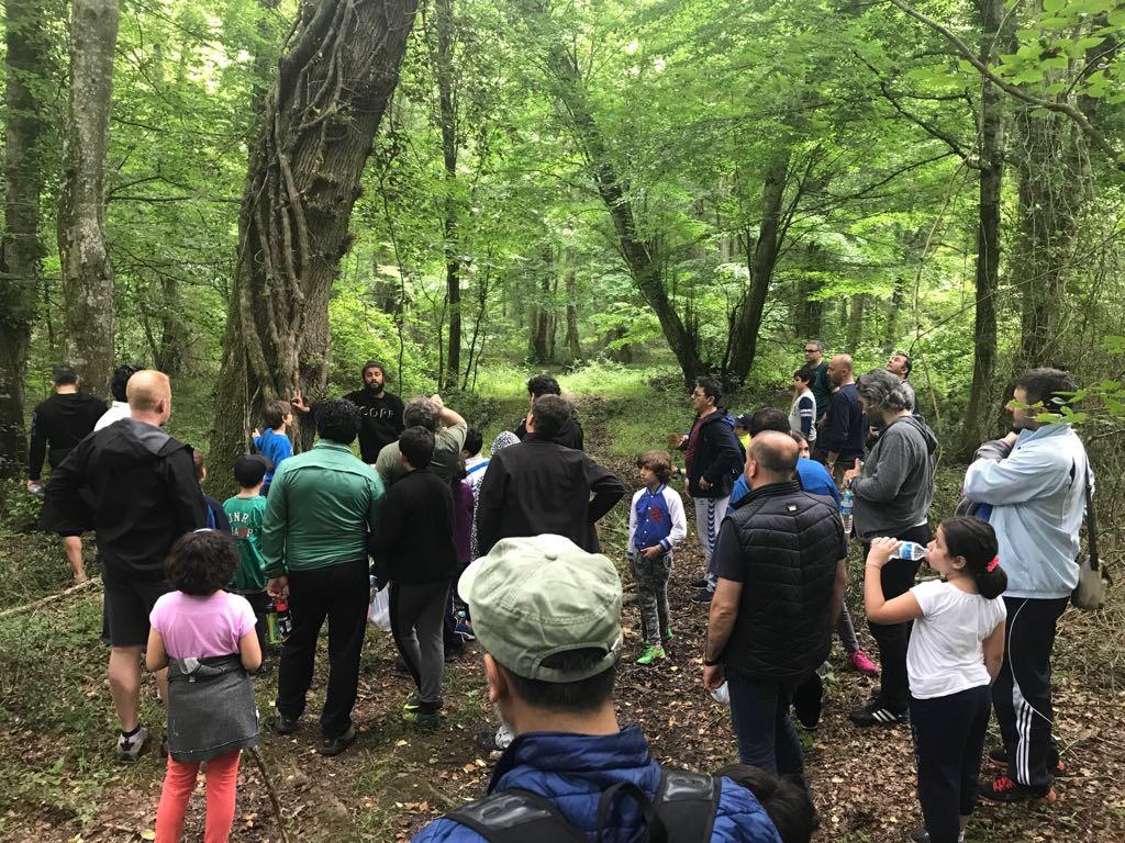 Babalar ve Çocukları Doğa Kampını Tamamladı