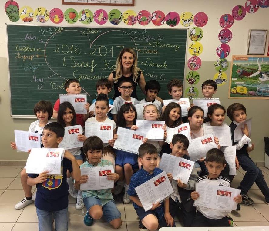 MEV Koleji Basınköy Okulları'nda Karne Heyecanı
