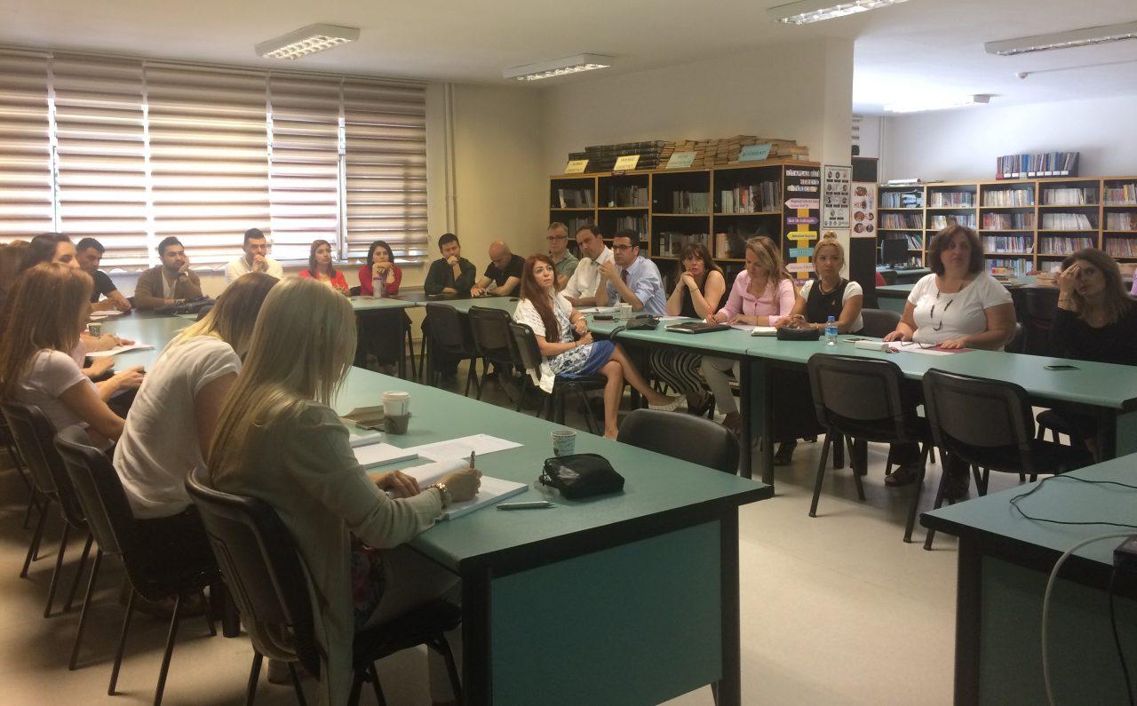 """2016-2017 Eğitim Öğretim Yılı Yaz Dönemi """"Mesleki Gelişim Programı""""mız Kurul Toplantılarıyla Başladı"""