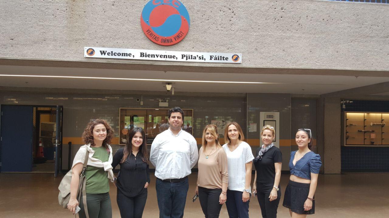 """MEV Koleji Yabancı Diller Bölüm Başkanları """"Akademik Öğrenci Değişim Programları"""" Kapsamında Kanada'da"""