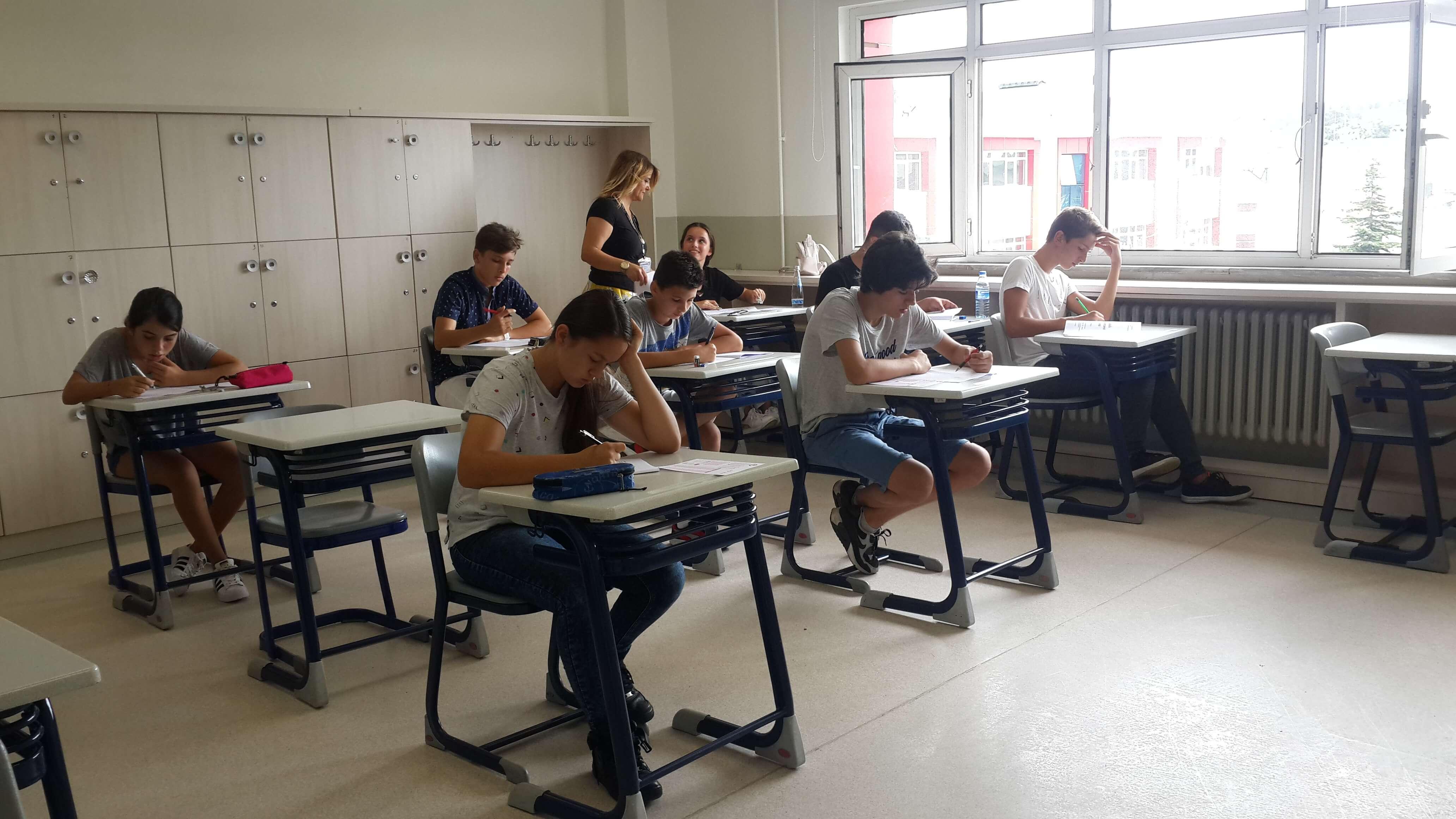Anadolu Lisesi Öğrencilerimiz İngilizce Seviye Tespit Sınavına Katıldılar