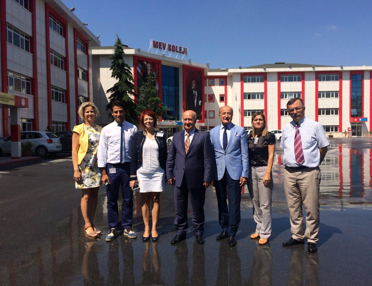 Milli Eğitim Vakfı Merkez Yönetim Kurulu Başkan Yardımcımız Okulumuzu Ziyaret Etti