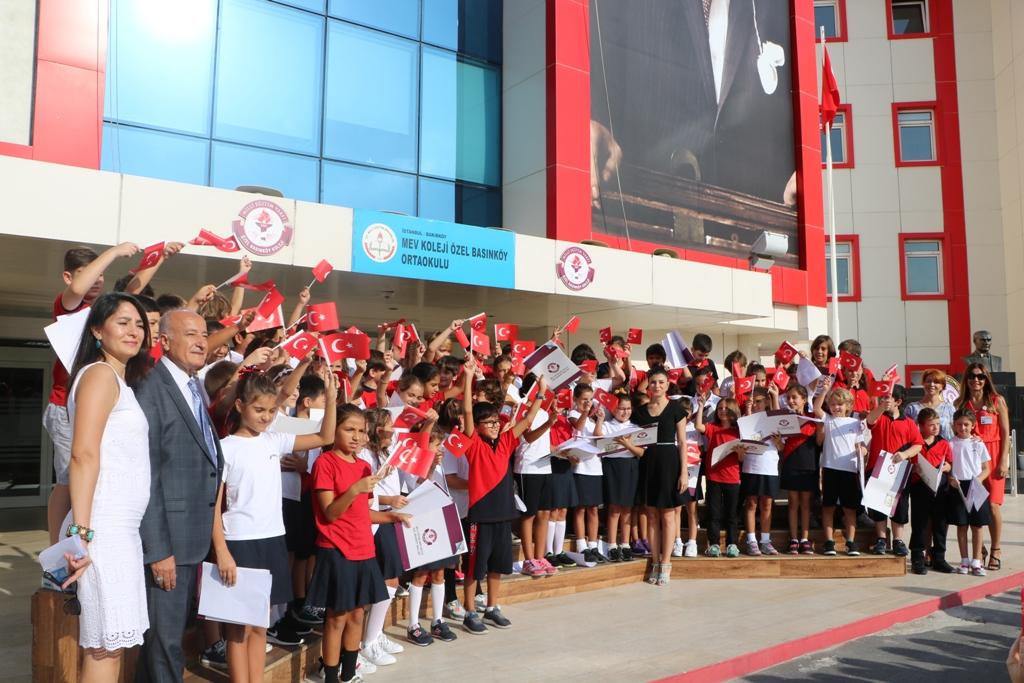 4. Sınıf Öğrencilerimiz İlköğretim Haftası'nı Kutladı