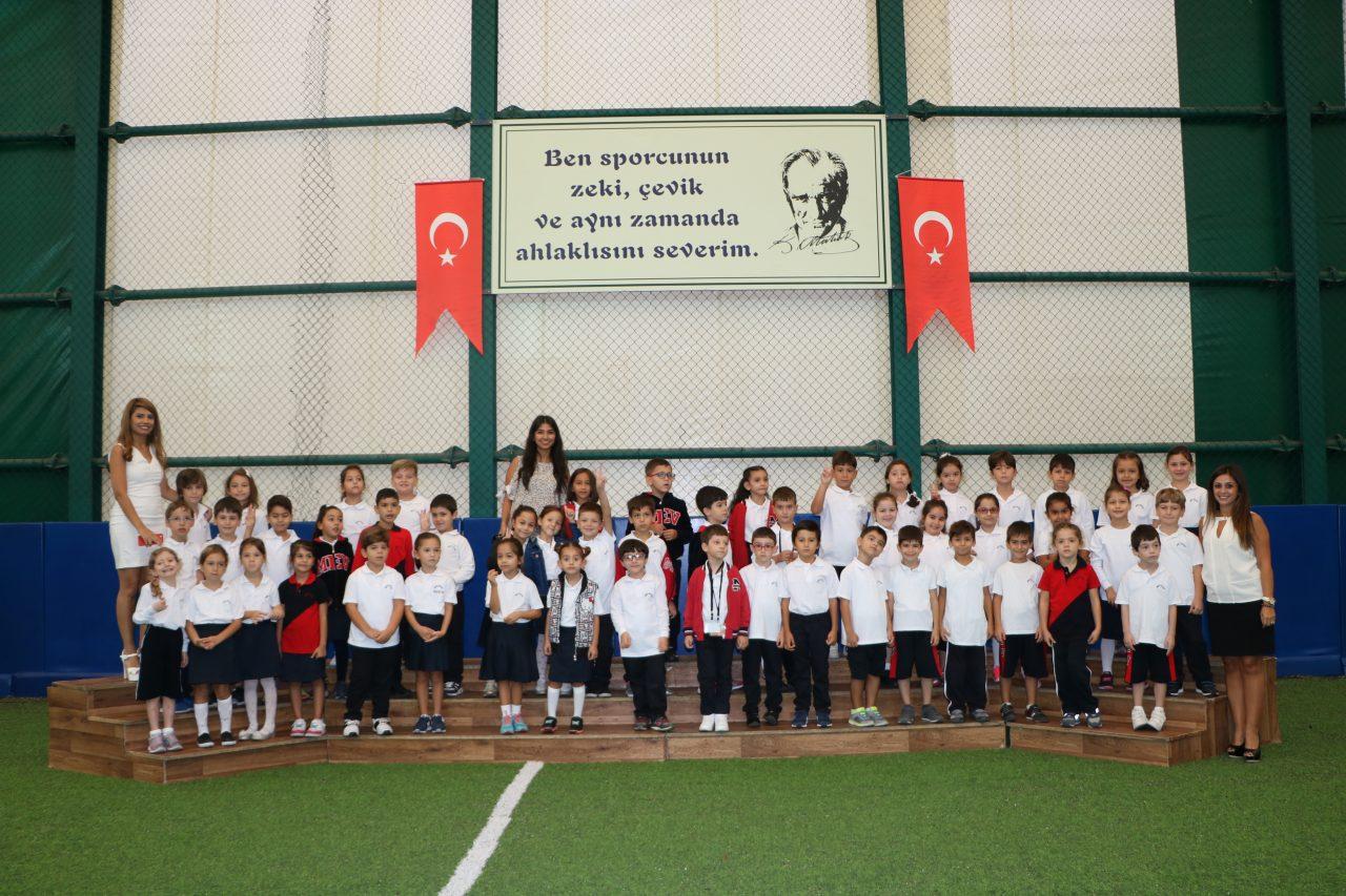 1. Sınıf Öğrencilerimiz İlköğretim Haftası'nı Kutladı