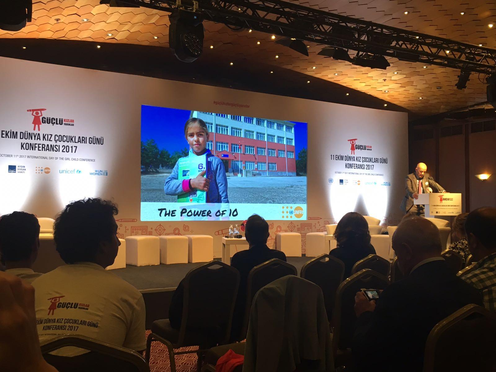 Dünya Kız Çocukları Günü 2017 Uluslararası Konferansına Katıldık