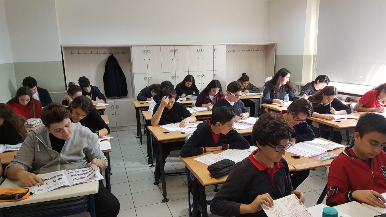 Öğrencilerimiz Kanada Öğrenci Değişim Programı Yabancı Dil Seviye Belirleme Sınavına Katıldılar