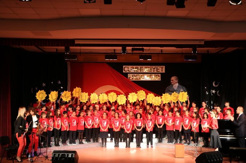 29 Ekim Cumhuriyet Bayramımızın 94. Yıldönümünü Coşkuyla Kutladık