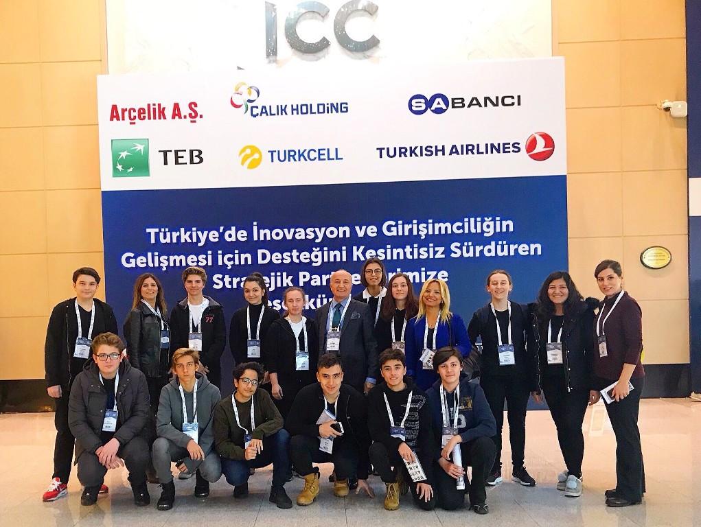 STEM Ve Girişimcilik Kulübü Öğrencilerimiz Türkiye İnovasyon Ve  Girişimcilik Haftası 2017 Etkinliğine Katıldılar