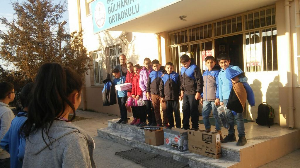 Öğrencilerimizin Hediyeleri Erzincan'da Okuyan Arkadaşlarına Ulaştı