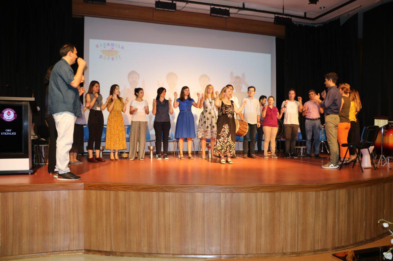 Öğretmenlerimize Orff Eğitimi ve Görsel Sanatlar Etkinliği Düzenledik