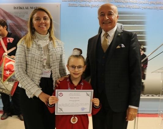 Ritmik Cimnastik Türkiye Şampiyonası Üçüncülüğü