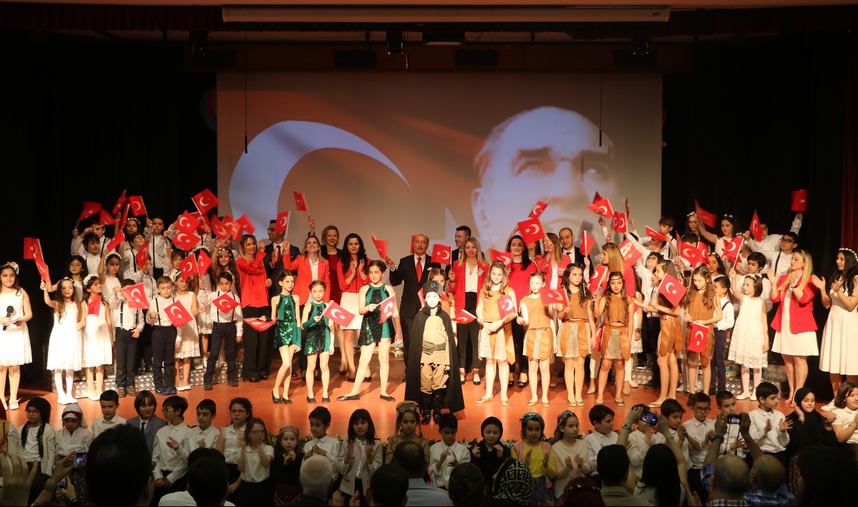 23 Nisan Ulusal Egemenlik ve Çocuk Bayramı'mızı Büyük Bir Coşkuyla Kutladık