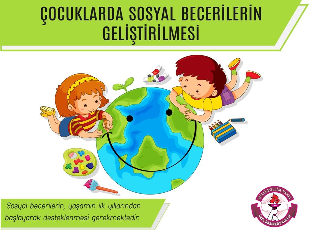 Çocuklarda Sosyal Becerilerin Geliştirilmesi Konulu Veli Bülteni