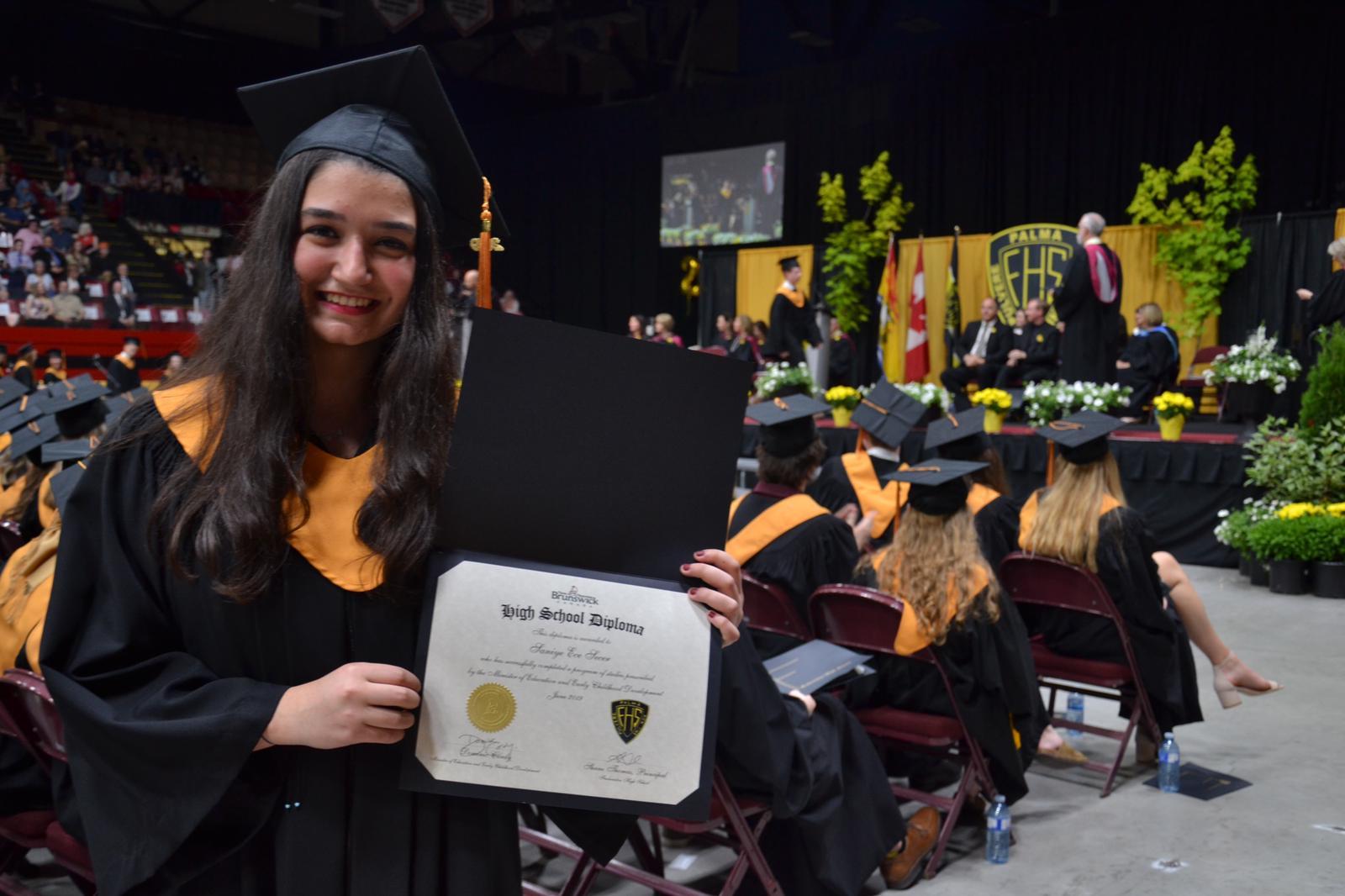 Anadolu Lisesi Öğrencimiz Dalhousie Üniversitesinin Kinesiyoloji Bölümünde Eğitimine Devam Edecek