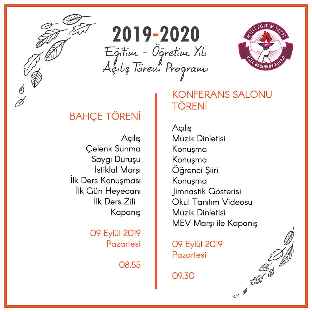 mev 2018-2019 açılıs davet