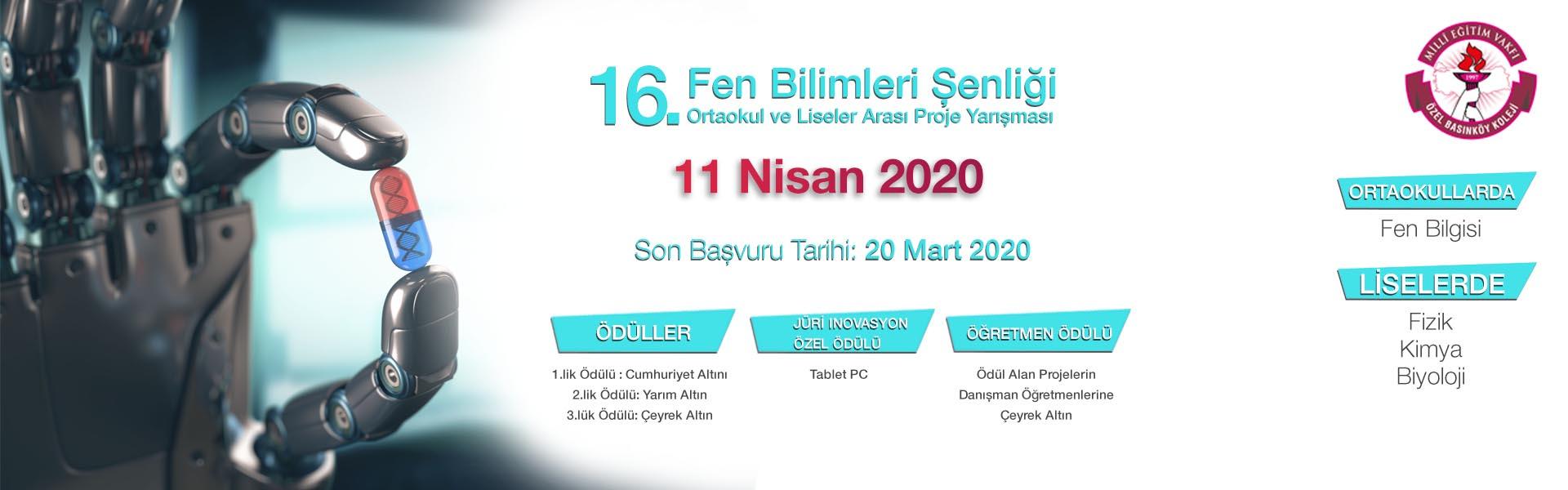 basınköy fen bilimleri yarışma 2020