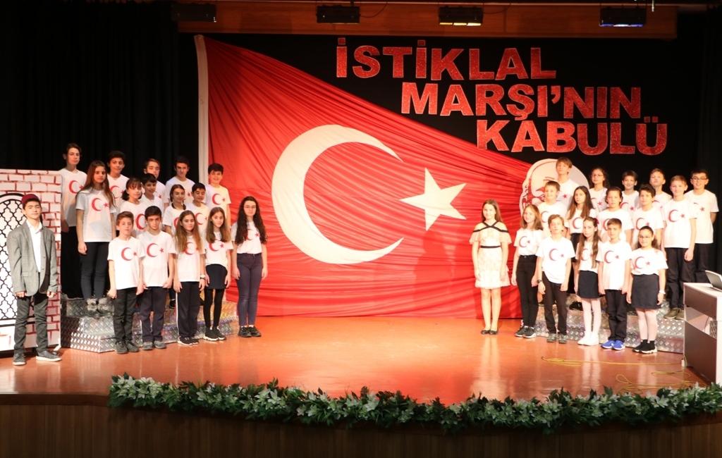 İstiklal Marşı'mızın TBMM'de Kabulünün 99. Yıl Dönümünü Kutladık
