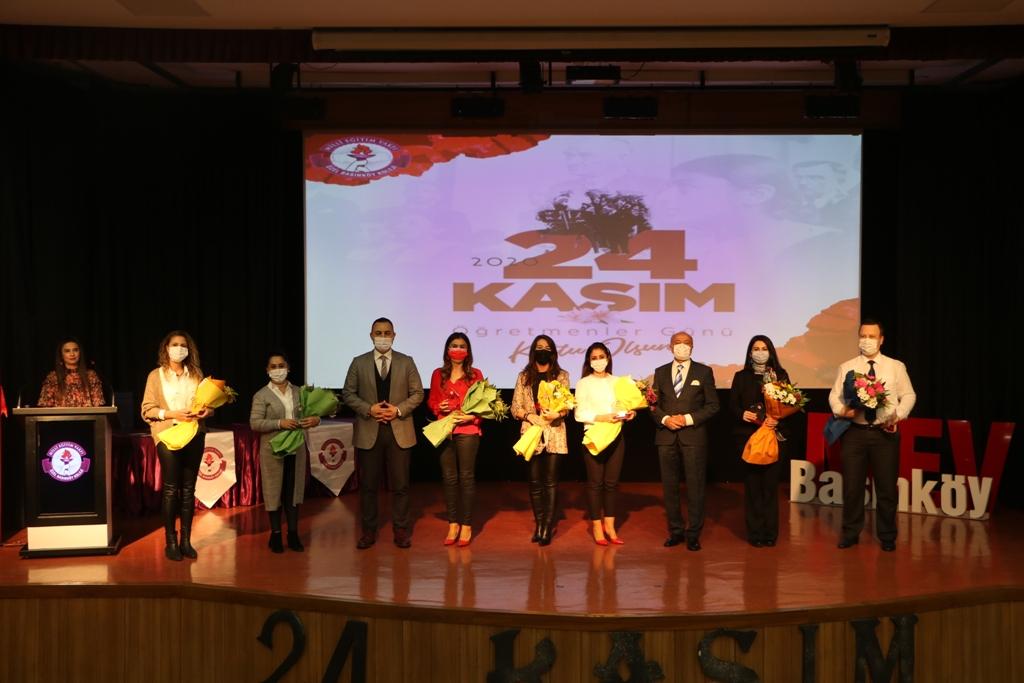 24 Kasım Öğretmenler Günü Plaket Takdim Törenimiz