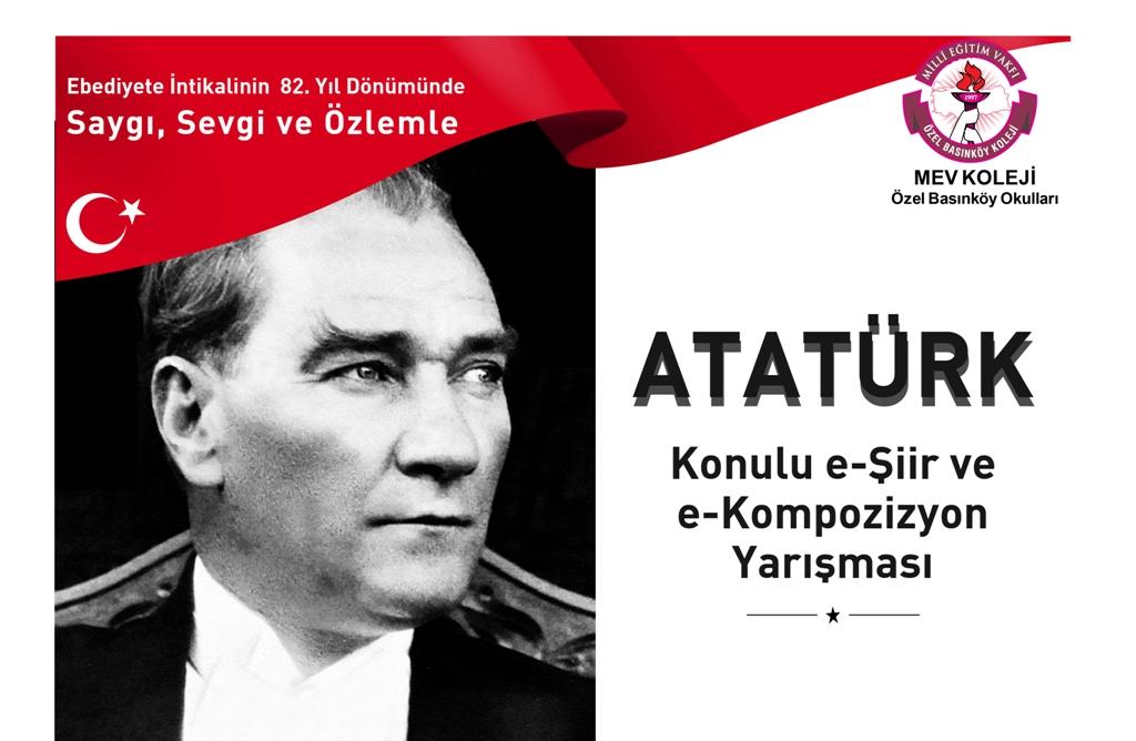 """""""Atatürk"""" Konulu e-Kompozisyon ve e-Şiir Yarışması"""