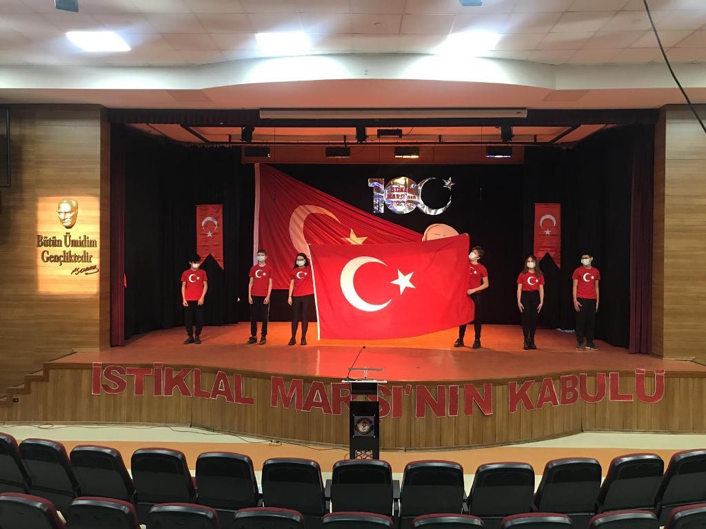 İstiklal Marşımızın TBMM'de Kabulünün 100. Yıl Dönümünü Kutladık